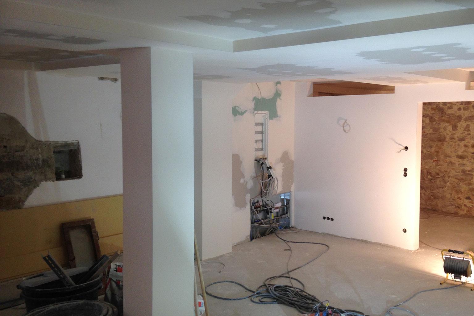 wohnung renovierung appartement im erdgeschoss, neue ferienwohnung ab april 2018 - zum grauen wolf, Design ideen